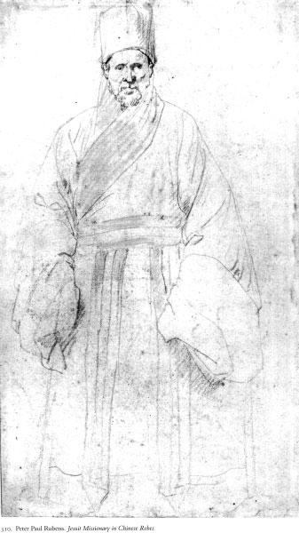 Peter Paul Rubens Jesuitenmissionar in chinesischen Gewändern aus der Pierpont Morgan Library New York, III, 179