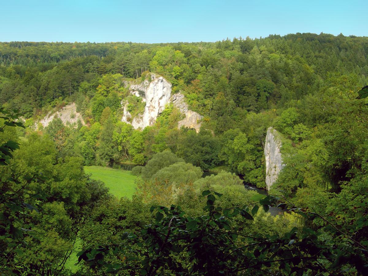 Donautal bei Gutenstein