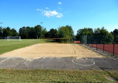 Sandbühlhalle Beachvolleyball Feld