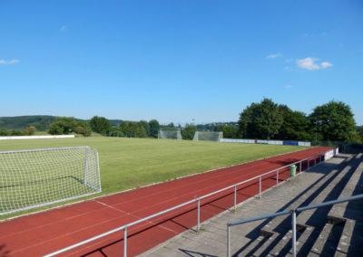Sandbühlhalle Fußballfeld