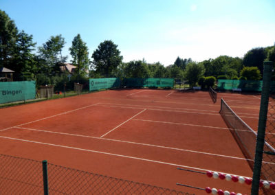 Sandbühlhalle Tennisplatz