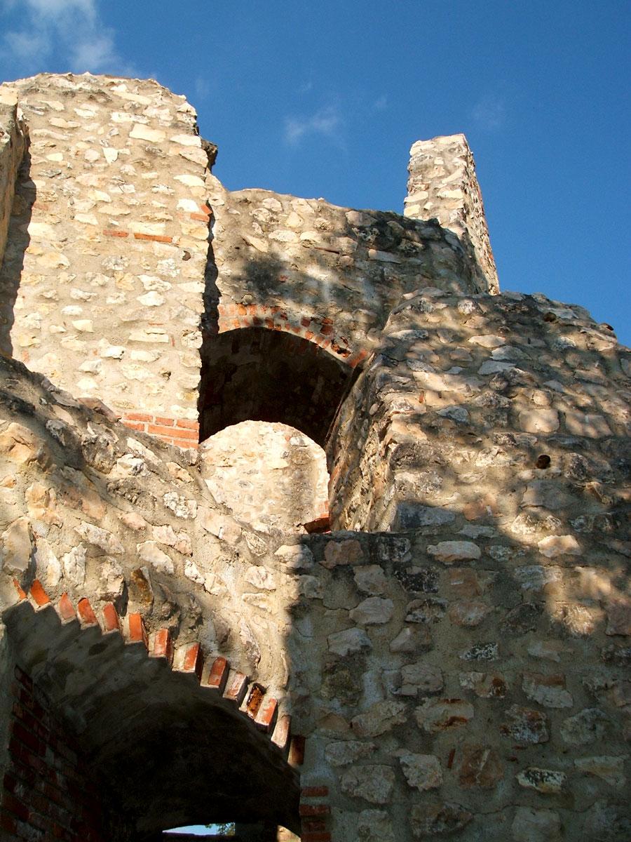 Turm der Ruine Hornstein