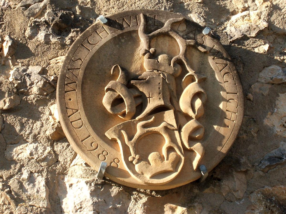 Wappen der Ruine Hornstein